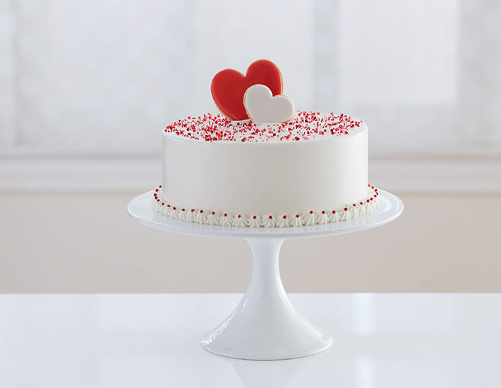 Valentine's Day Heart Cake Dessert Ideas from Cake Mate