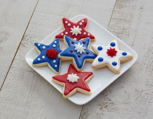 Simple Star Sugar Cookies